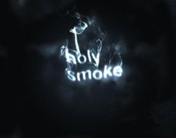 Holy Smoke Abstract Manip by pointblankcreativity