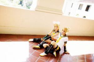 Vocaloid Twin: Rin n Len - 5 by ImMuze