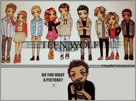Teen Wolf Cast Kibi Version by kayelle89