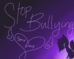 Stop bullying by Skittles-the-kitty