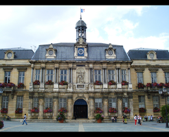 City Hall of Troyes by BluePalmTree