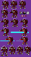 New Mechman Sprites by Sexyboiy1