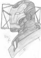 So.. Iron man because I can by Kaedegirl