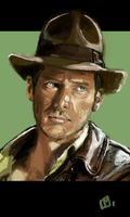 Indiana Jones by Tifaerith