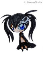 chibi Black Rock Shooter 2 by VanessaGiratina