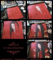 Azula WIP Process by MaterGaia