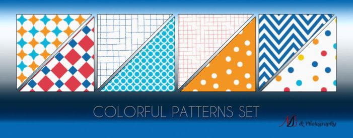 Colorful Patterns set by noema-13