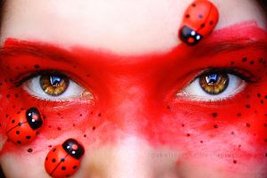 Ladybugs by ElyneNoir
