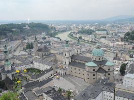 View of Salzburg by Pauper-Circumstance