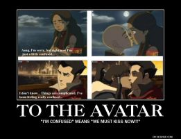ATLA/LOK kiss demotivator by IDK0091