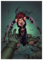 Bloodrayne By Andie Tong by Ross-A-Campbell