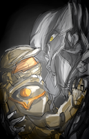 Arbiter and Master Chief by Maximum-Delusion
