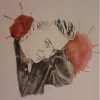 James Watercolor pencil by zomberflie