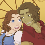 Rumbelle icon by AngelQueen13