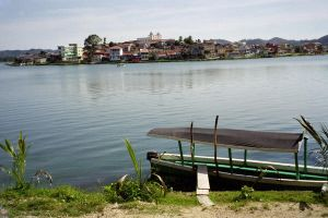 Lake in Guatemala by cute-but-confused