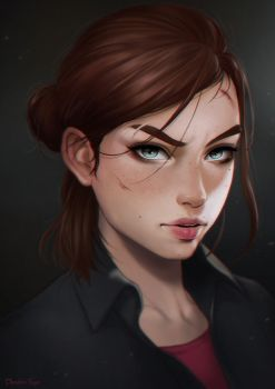 Ellie (The Last of Us 2) by dandonfuga