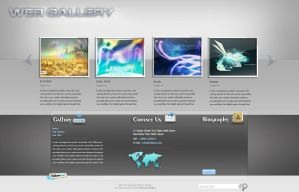 Web Gallery Theme by pcboyir