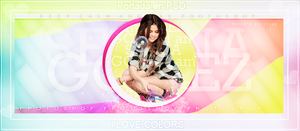 Portada en PSD I LOVE COLORS! by PayEditions