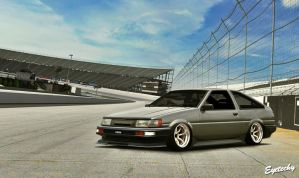 Project Toyota Corolla AE86 Levin by Eyetechy