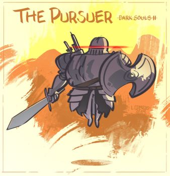 Dark Souls II - The Pursuer by LucianoC
