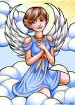 Angel in the Clouds by Jessica-Tanner