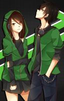 Black and Green by Rizun27
