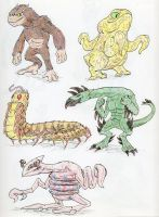 Animorphs Races 1 by Monster-Man-08