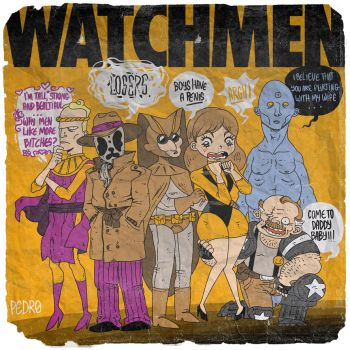 WHO WATCHES THE WATCHMEN? by Pe-u