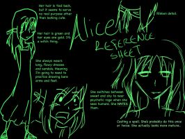 SPOILERS Alice Reference Sheet by WeHaveYourCookies101