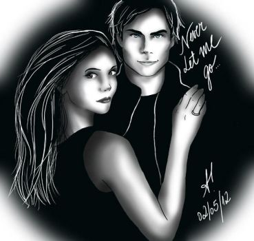 Never Let Me Go Delena by amandioka