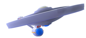 USS EnterpriseA (Spore) by dinoman82