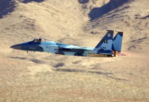 F-15C Aggressor Scramble by shelbs2
