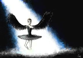 Black swan by Crystiee