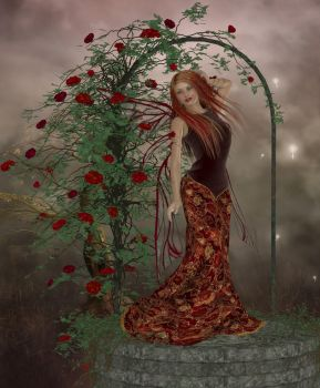 Rose Fairy by Erevia