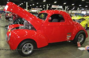 40 Willys gasser by zypherion