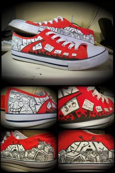 Spam custom converse by Uverion