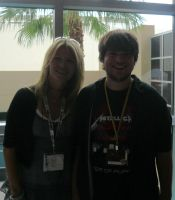 Me and Mary Elizabeth McGlynn by TenchiMng