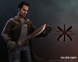 Jason Walker for Indy Game: Patriots by Ravanna7