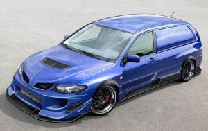 Mitsubishi Lancer evolution by themjdesign