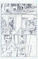BlackHood #8 Page 12 Pencils by RobertHack