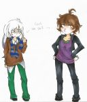 Lucina and Chris - CLOTHING SWAP by JokerDROWNED