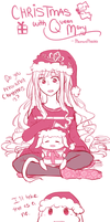 Christmas with Queen Mary by MemoriiMakiko