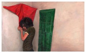 Red and Green Cloth by ARoulette