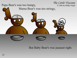 Little Visconte: 3 Bears by masterxodin