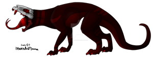 Hell Hound adopt (O2A) by Dysfunctional-H0rr0r