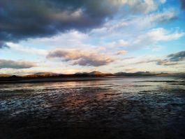Pwllheli beach by DavidEvz