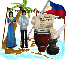 Philippine Culture by AzureRosePianist