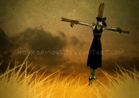 Straw man by CottonValent