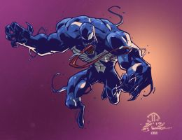Venom Animated by scroll142