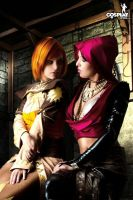 Even more DAO, with Leilana by cosplayerotica